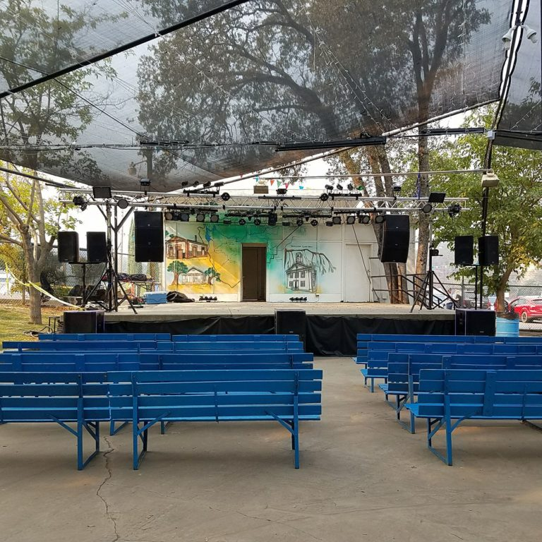 Mariposa Fair Stage