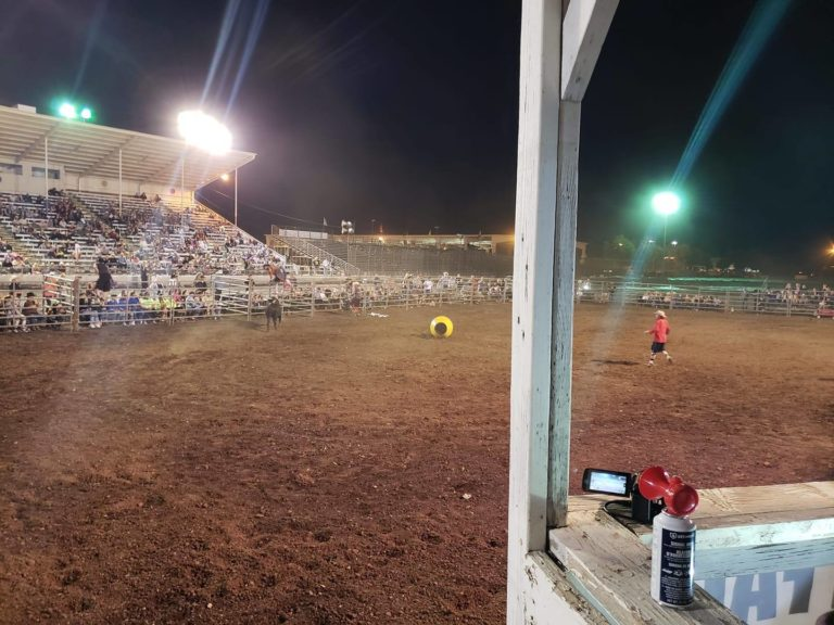 Bull Fighting @ The Silver Dollar Fairgrounds!